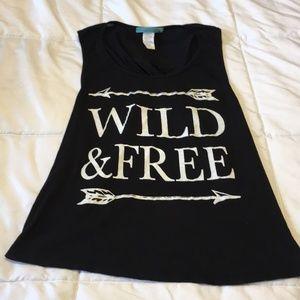 JULIE'S CLOSET | Wild & Free Open Back Tank Top